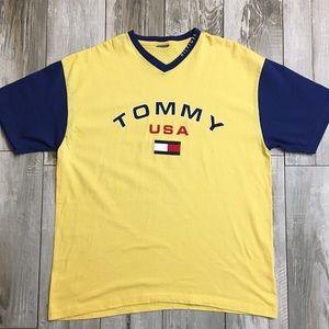 Tommy USA V-Neck Tee